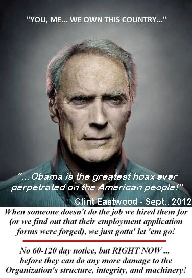 Clint eastwood obama biggest hoax