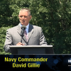 Navy Commander David Gillie speaks At Gettysburg