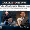 Putin Will Out Obama As Gay Within 100 Days