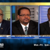 Michael Eric Dyson Standing In A Bucket Of Horse Manure