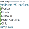 Trump To Sweep Five States Today