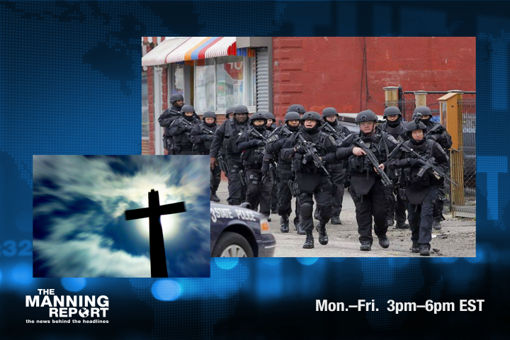 Jesus is coming and so is Martial law. Recorded 22 April 2014.