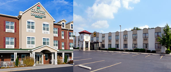country inn and suites and super 8 gettysburg